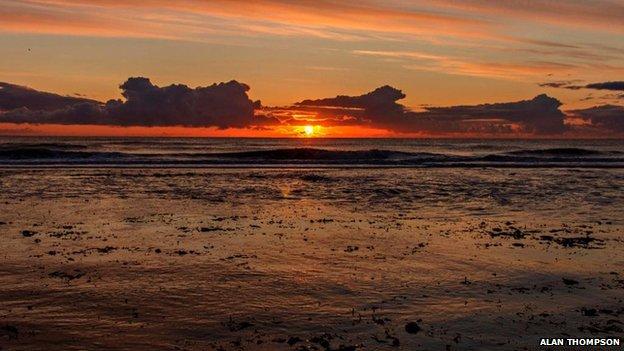 Sunset in Sunderland