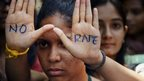 An anti-rape protest in India on Sept 13, 2013