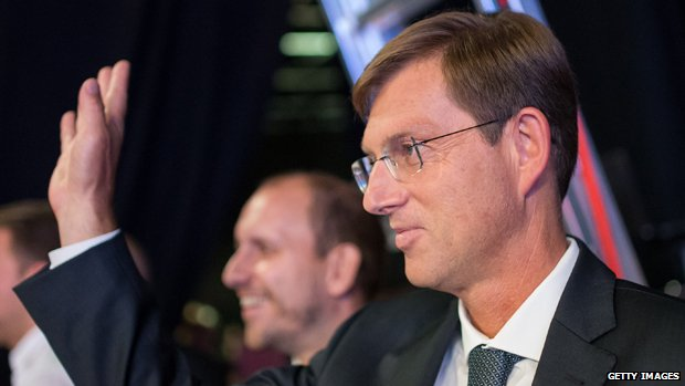 Slovenian Prime Minister Miro Cerar