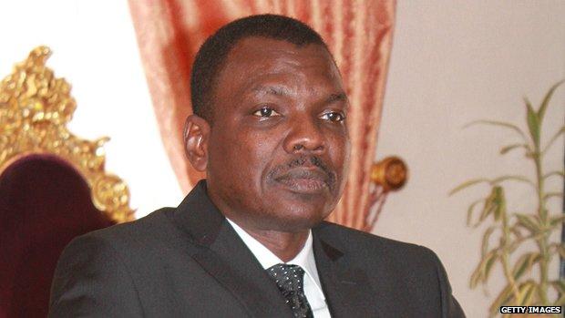 Central African Republic's Prime Minister Mahamat Kamoun