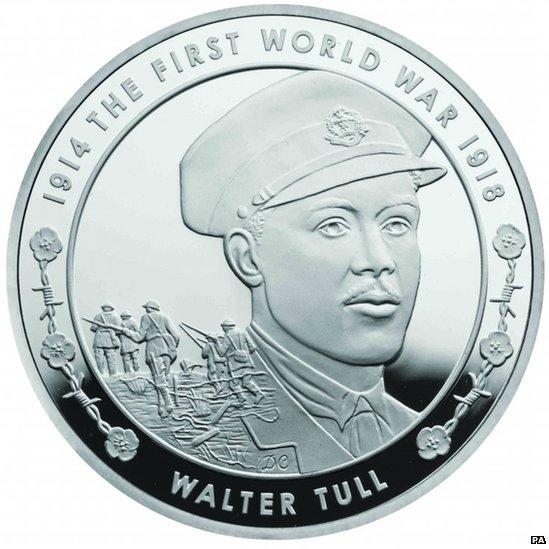 Walter Tull coin