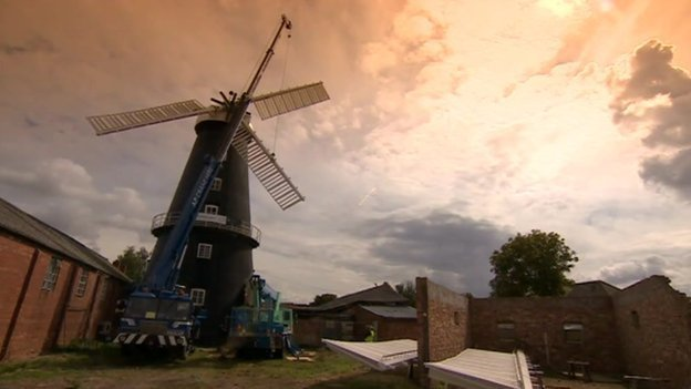 Heckington Windmill should get all eight sails replaced in one day