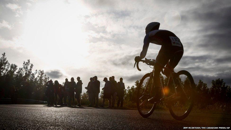 Cyclist Cody Canning