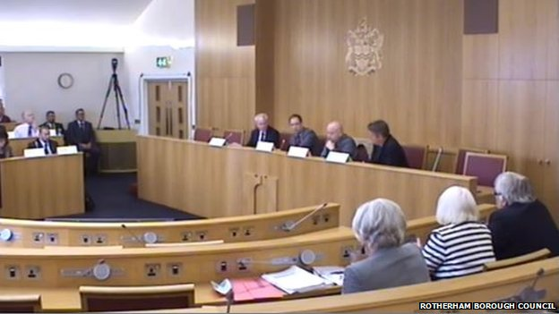 Rotherham Council Cabinet meeting