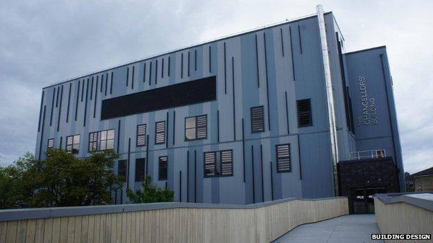 Chancellors' Building, University of Bath
