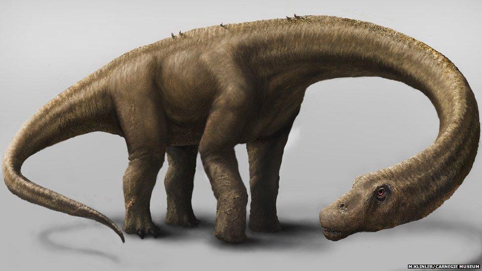 Dreadnoughtus artist's impression
