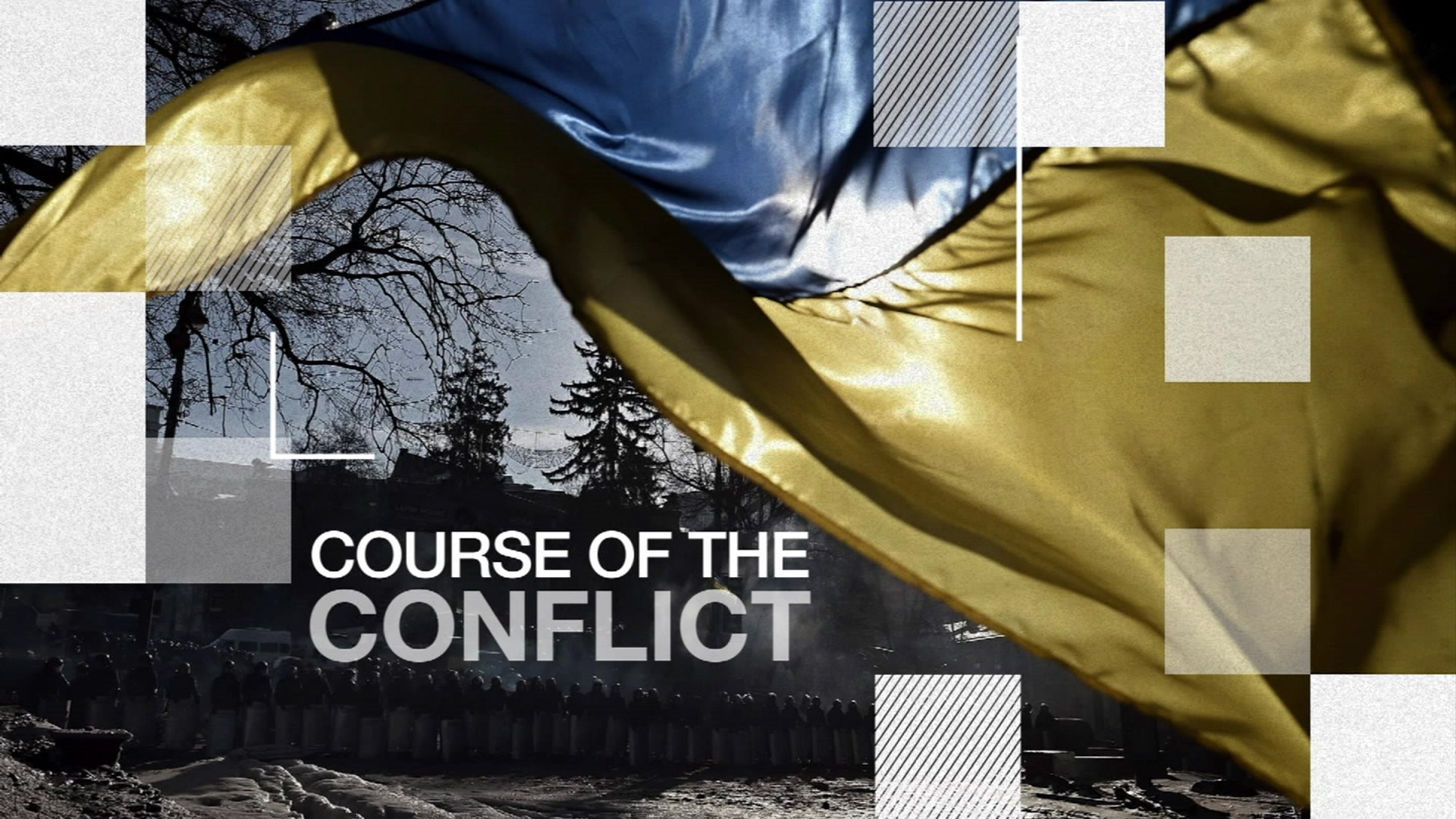 Ukraine conflict graphic