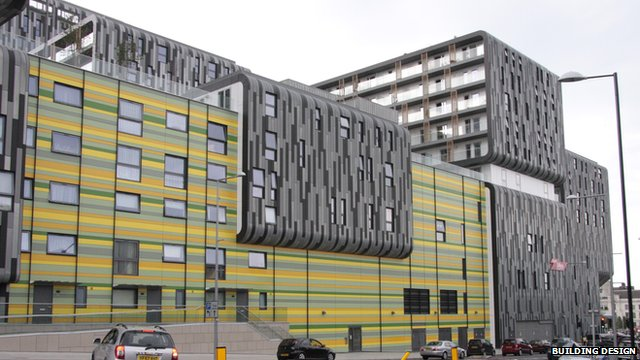 The Woolwich Central development