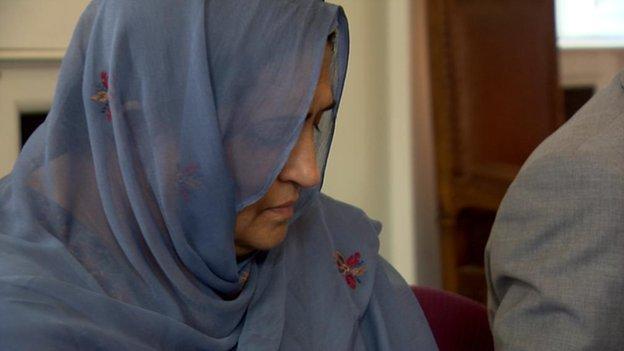 Aqsa Mahmood's mother Khalida