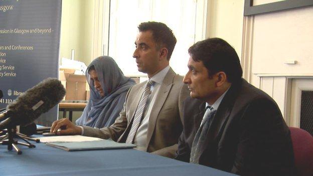 Khalida Mahmood, Aamer Anwar and Muzaffar Mahmood