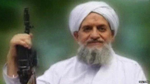 Ayman al-Zawahiri in September 2011