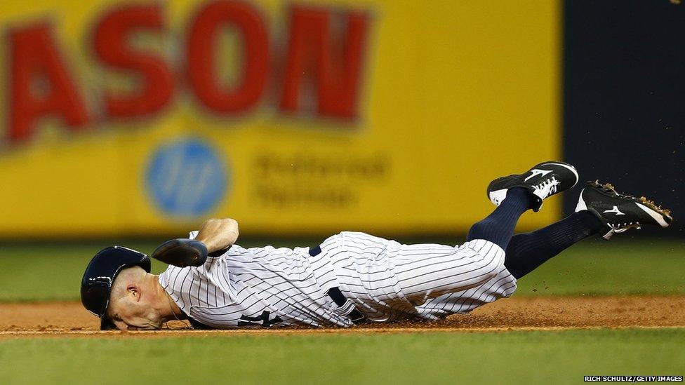 Brett Gardner of the New York Yankees