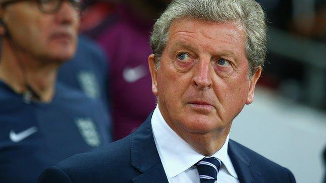 England boss Roy Hodgson