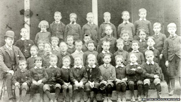 Pupils in the late 19th Century