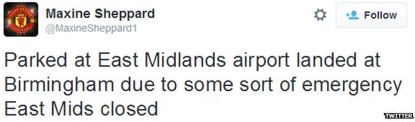 Maxine Sheppard tweet