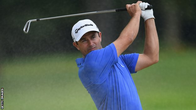 Gareth Maybin lies third after day one of the European Masters