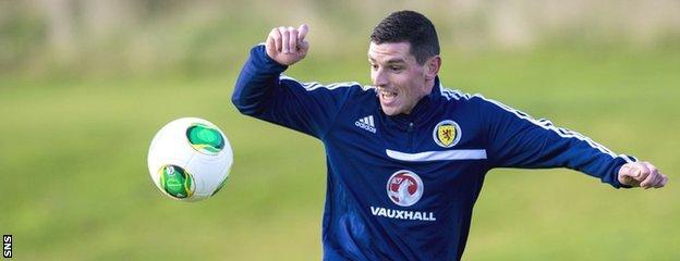 Scotland midfielder Graham Dorrans
