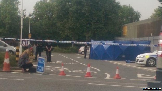 Cordon at Oxford retail park