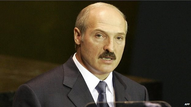 Belarusian President Alexander Lukashenko addressing the UN General Assembly in 2005