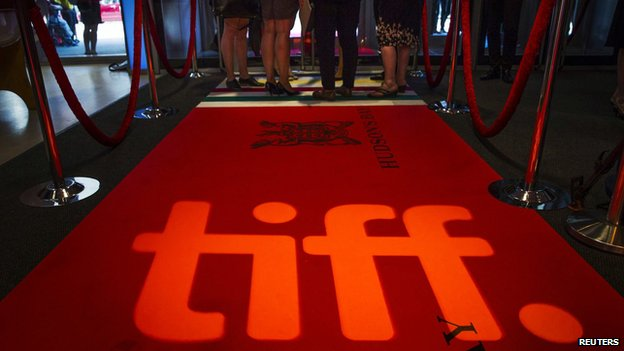 Toronto Film Festival red carpet