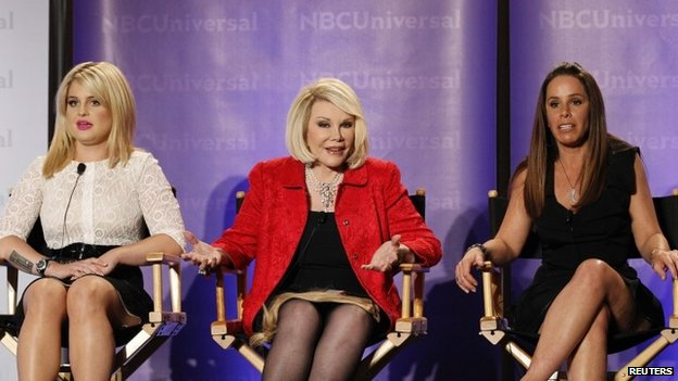 Comedian Joan Rivers dies aged 81