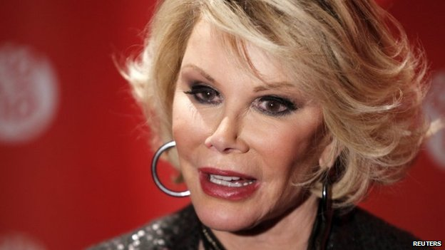 Comedian Joan Rivers appeared in Park City, Utah, on 25 January 2010