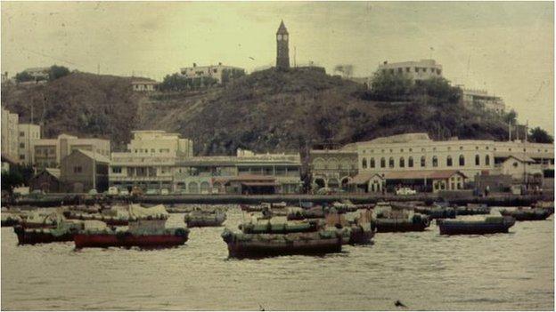 Skyline of Aden
