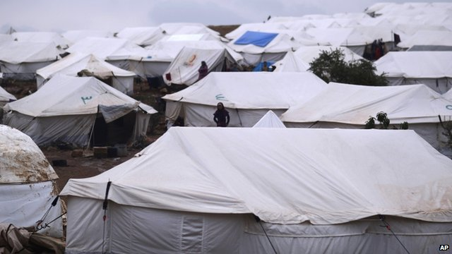 Atmeh refugee camp