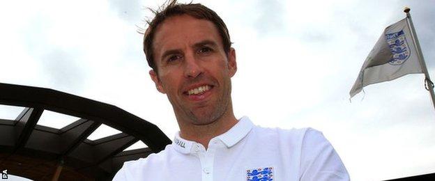 England Under-21 manager Gareth Southgate