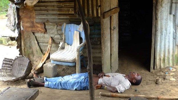 Ebola patient
