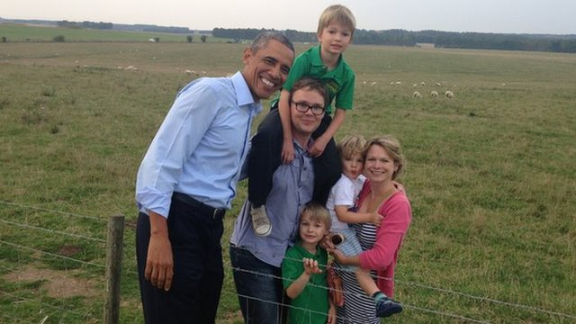 Muzzies Built Stonehenge, sez Obama
