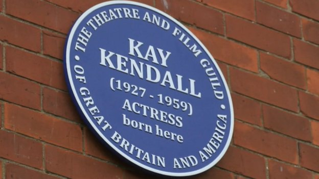 Kay Kendall blue plaque