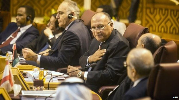 Arab League foreign ministers meet in Cairo (7 September 2014)