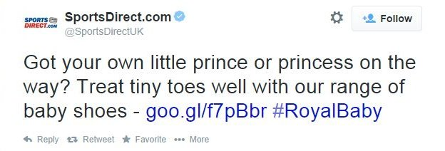 Sports Direct: Got your own little prince or princess on the way? Treat tiny toes well with our range of baby shoes