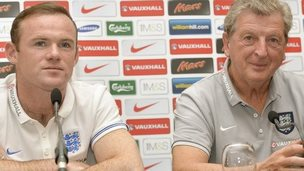 Rooney and Hodgson