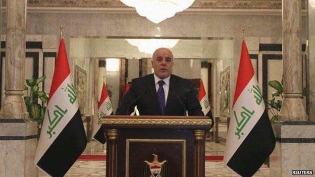 Iraq crisis: Parliament swears in unity government