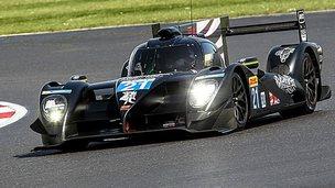 Strakka Dome 103 endurance racing car