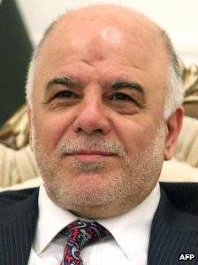 Haider al-Abadi in Baghdad 2014