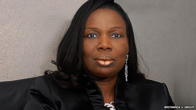 Uju Ifejika, chairman and CEO of the Britannia U Group