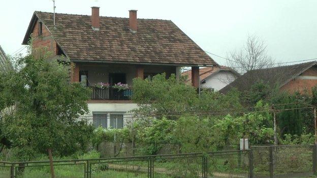Haines family home in Croatia