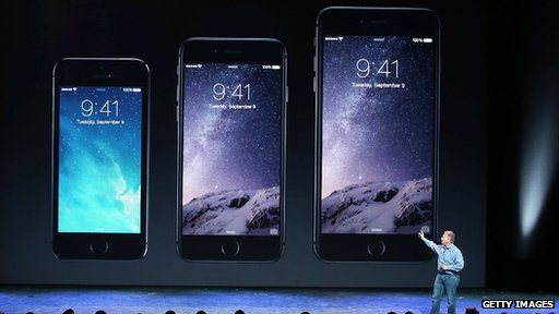 iPhone 5S, iPhone 6 and iPhone 6 Plus