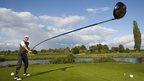 Karsten Maas and the longest useable golf club