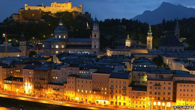 View of Salzburg, Austria