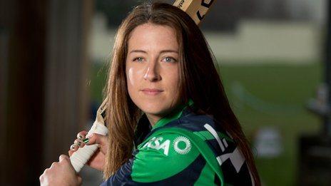 Isobel Joyce captains the Irish side