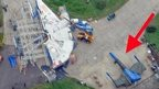 Star Wars ships on Greenham Common