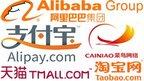 Alibaba Group logos