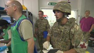 The 34 Field Hospital at Camp Bastion