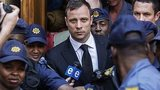 Oscar Pistorius leaves court. 12 Sept 2014