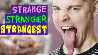 nick stoeberl has world's longest tongue