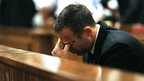 Pistorius reacts as verdict handed down
